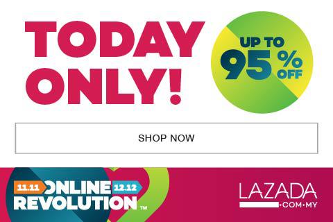 Lazada Online Revolution Bermula Hari ini