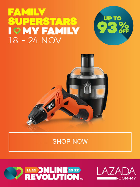 Family Superstars Sales dari Lazada