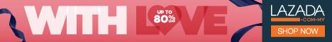 Promosi Lazada Wih LOVE Sehingga 80%