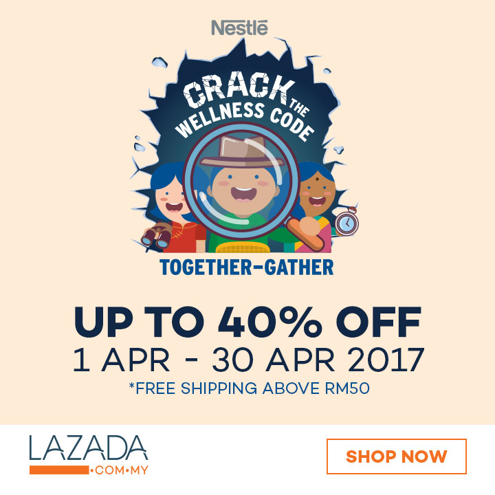 Image result for lazada together gather nestle