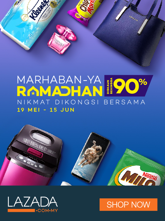 Lazada Voucher Code 10% OFF (Maximum RM80) for New Users
