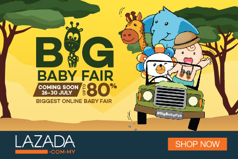 Lazada Big Baby Fair up to 80%