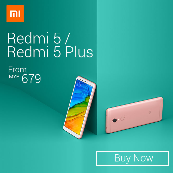 Redmi 5 promotion