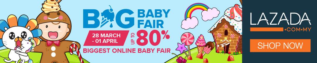 lazada big baby fair, jualan barangan bayi murah, barangan bayi murah online, jualan lazada murah, big baby fair, lazada malaysia big baby fair
