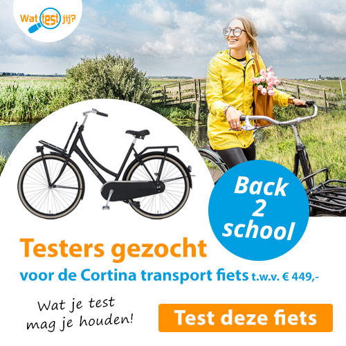 Test een Cortina transport fiets