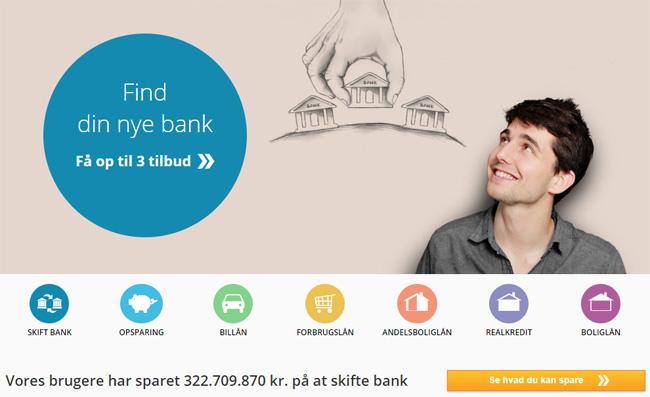 Banker - Se anmeldelser af danske banker, og find den bedste bank