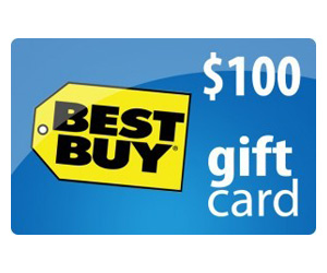 $100 Best Buy Gift Card from JustFreeStuff at Totally Free ...