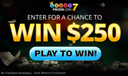 Lucky 7 sweepstakes game