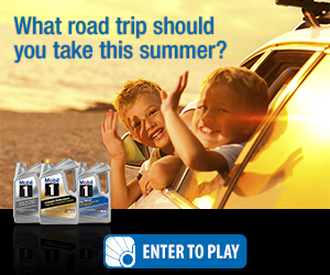 Take a fun quiz, share your opinions on the family road trip for this summer and be entered to win Dailybreak coins which can be redeemed for great prizes & gift cards!