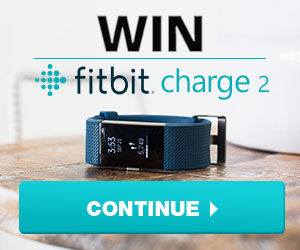 Celebrate a fresh start in 2017 and kickstart your healthy living with a FREE Fitbit Charge 2. There are 50 up for grabs, choose from black, plum, blue or teal! Enter now for a chance to win!