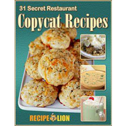 Free 31 Secret Restaurant Copycat Recipes Cookbook