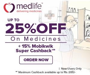 medlife off on medicines