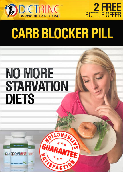 Dietrine Carb Blocker - Good By To STARVATION DIETS