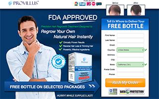 Provillus For Men CPA