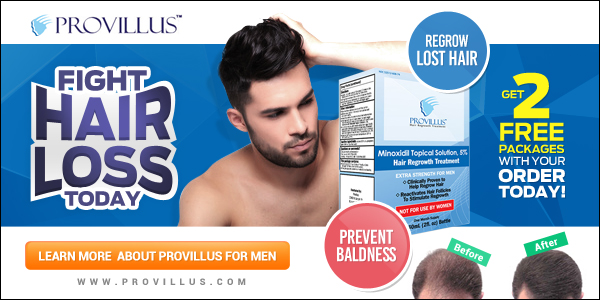 Hair Loss Treatment For Men - Order Your FREE Bottles!