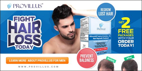 Provillus hair regrowth