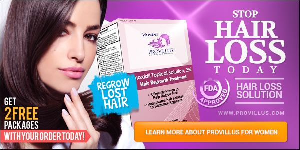 Provillus Stop Hair Loss Banner