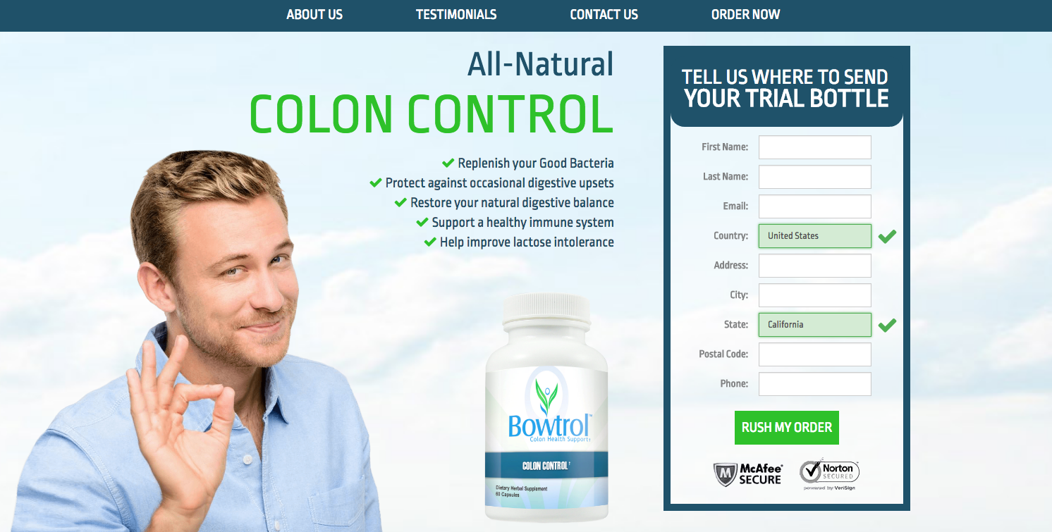Bowtrol Colon Control CPA