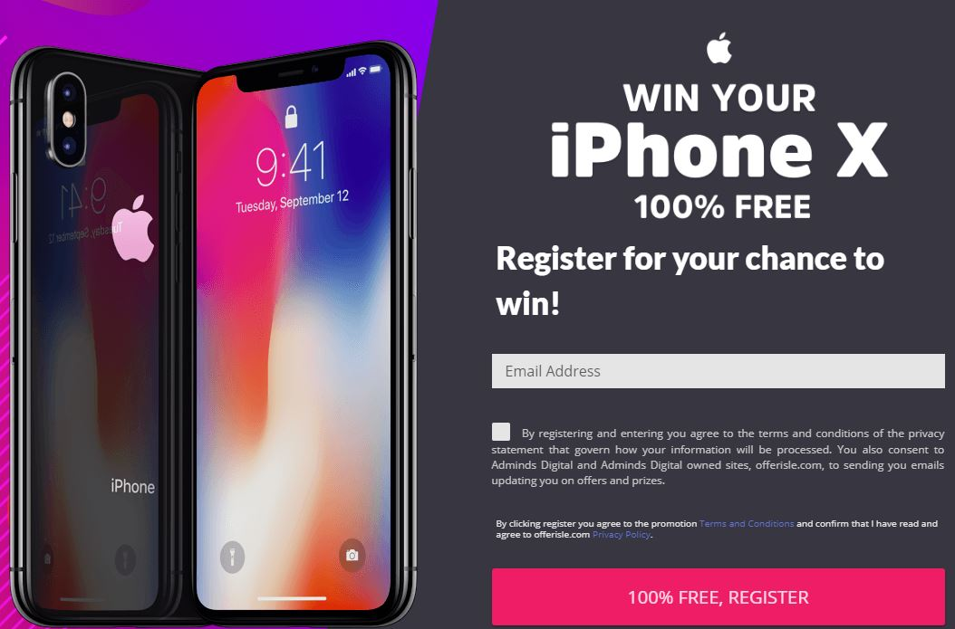 iPhone Voucher Affiliate Program | NAMoffers Offerwall