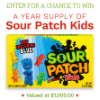 Monthly Sweepstakes Sour Patch