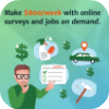 Earn On Demand For Surveys