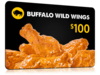 Buffalo Wild Wings $100 Gift Card