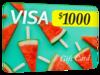$1,000 Visa Gift Card