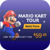 Win 1 Year Mario Kart Tour Gold Pass!