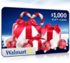 Win a $1000 Winter Wonderland Walmart Card!
