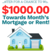 GET $1000 Mortgage/Rent Gift card
