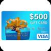 Get free $500 Visa Card!