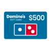 GET $500 Dominos Gift Card HERE!