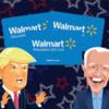 Choose Trump or Biden for a Walmart Gift Card!