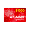 GET $1000 Walmart Red Gift Card HERE!