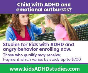 Clinical Study for pediatric ADHD can earn you and your family up to $700 extra this month.