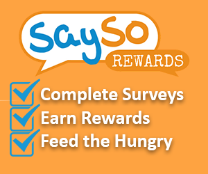 Sign up for SaySo Rewards! - FamilySavings