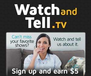 Watch & Tell TV Panel.