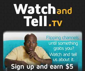 Get Paid to Watch TV and Voice Your Opinions via www.productreviewmom.com