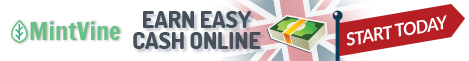 Earn easy cash online at MintVine UK