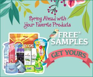 FREE Spring Samples...