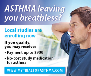 FREE Clinical Trial: Asthma