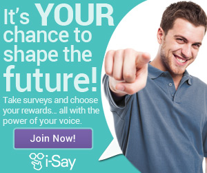Get PAID for your opinion from i-Say!