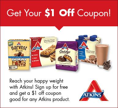 free atkins diet plan
