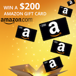 150x150 - Claim your chance to win a $200 Amazon gift card