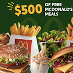 150x150 - Your chance to win up to $500 worth of McDonald's meals!