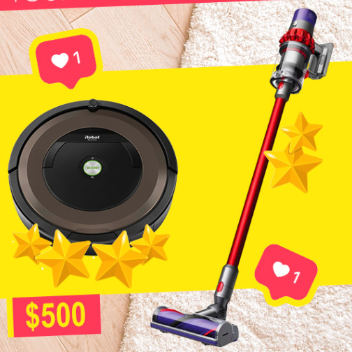 504x504 - Win your favorite vacuum now!