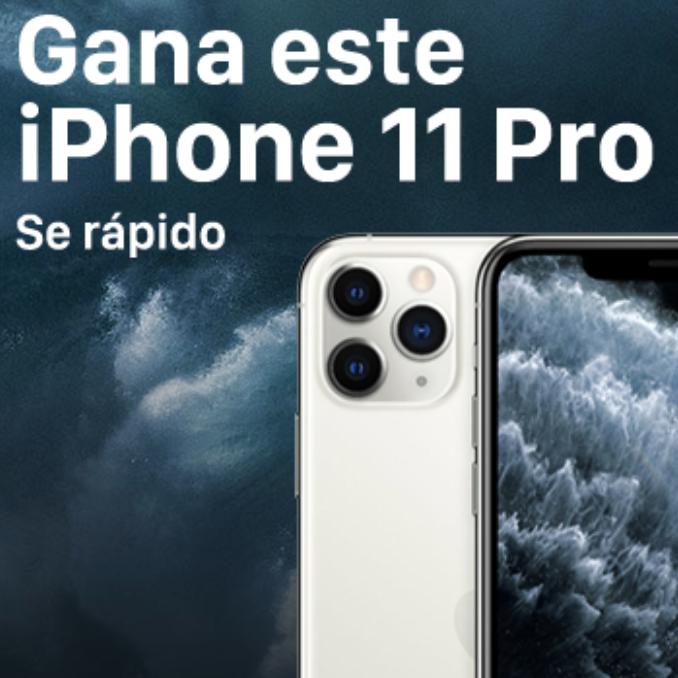 678x678 - Gana este iPhone 11 Pro, Se rapido!