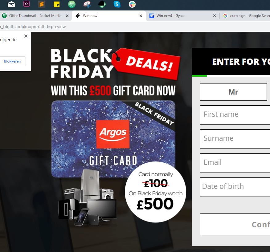 876x818 - Win this £500 voucher for free!