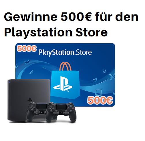 503x488 - Gewinne einen 500� Playstation Store Gutschein!