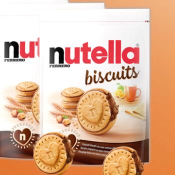 350x350 - Prova gratuitamente questo nuovo Nutella biscotto!